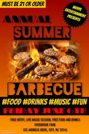 Bbq Poster Customize 680 Barbecue Poster Templates Postermywall