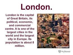 Презентация на тему Презентация к уроку английского языка в  2 london