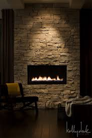 For angled wall like fireplace set in off the floor, use same stone as other