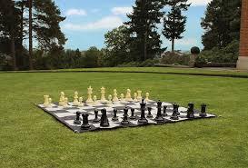 garden chess set. Large Chess Set Garden