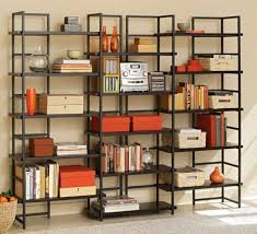 office bookshelf design. Medium Size Of Cabinet \u0026 Storage, Large Black Metal Bookcase Frame Material Wood Shelves Office Bookshelf Design E
