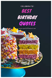 Birthday Quotes Spirit Of The Soul Lifestyle
