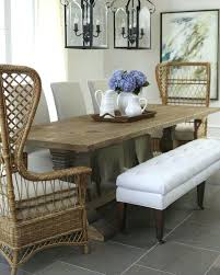 rattan side chair dining room design ideas mixed seating driven by decor hand woven rattan side chair