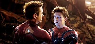Tony Stark With Peter Parker- Avengers: Endgame