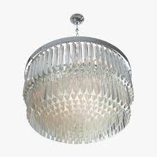 two tier drum chandelier