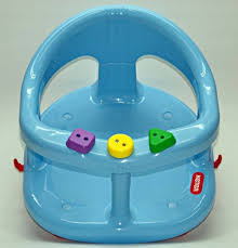 keter baby bath tub ring seat blue