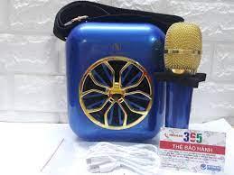 Loa bluetooth karaoke A20 tặng micro