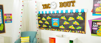Diy Bulletin Board Design Taco Themed Bulletin Board Fun365