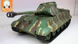 Радиоуправляемый танк <b>Heng Long</b> German King 1:16 - YouTube