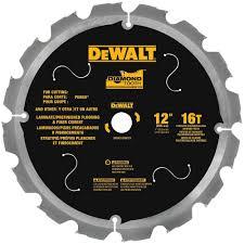 Superb DEWALT DWA31216PCD 16T PCD Tipped Laminate Cutting Blade, 12 Great Ideas