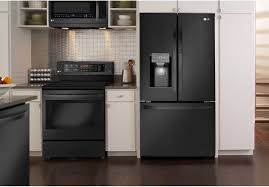 lg black stainless steel refrigerator. Gallery Of LG DEBUTS BLACK STAINLESS STEEL KITCHEN APPLIANCES Baby Gizmo Classic Lg Black Stainless Qualified 11 Steel Refrigerator