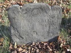 Priscilla Hillard Palmer (1705-1736) - Find A Grave Memorial