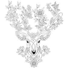 Small Picture Deer coloring page Design MS Design Kids