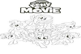 Mlp The Movie Coloring Pages The Movie Coloring Pages My Little Pony