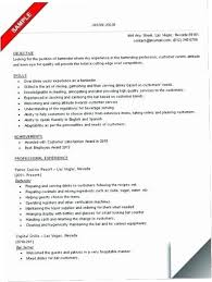 Bartender Duties For Resume Unique Bartender Job Description For Resume YAKX Bartender Resume