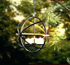 hanging candle chandelier outdoor electric non s outdoo