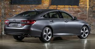 2018 honda accord pictures. unique pictures wraparound tail lights with led light guides and integrated twin  exhaust exits honda claims that the overall aerodynamic efficiency of new accord intended 2018 honda accord pictures
