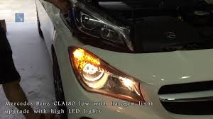 Mercedes Cla Led Lights Replacing Halogen With Led Page 2 Mercedes Cla Forum