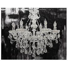 129 canvas chandelier canvas art wall decor bouclair regarding most cur chandelier