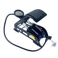 Bơm hơi xe máy mini - Bơm xe máy đạp chân loại tốt -Bảo hành 12 tháng 1 đổi  1 kiotool