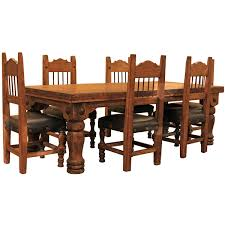 turned leg dining table. 8\u0027 Turned Leg Dining Room Table And Chairs Set W