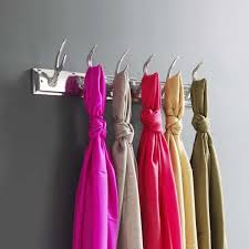 Ribbon Coat Rack 100 Fun Alternative Ways To Use Coat Hooks 49