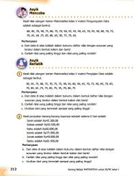 Kunci jawaban tematik kelas 5 tema 1 subtema 2 pembelajaran 4 halaman 89, halaman 90, halaman 91, halaman 92, halaman 93, halaman 94 kunci jawaban untuk jadikan bahan referensi di perbolehkan, asalkan jika di bagikan di situsnya sertakan sumbernya ya kak. Kunci Jawaban Buku Senang Belajar Matematika Kelas 5 Kurikulum 2013 Revisi 2018 Halaman 209 210 211 212 Kunci Soal Matematika
