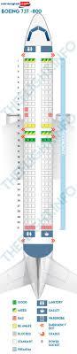 Norwegian Seating Chart Seat Map Boeing 737 800 Norwegian Air Shuttle Best Seats In