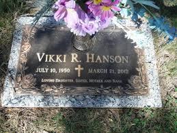 Vikki Rae Johnson Hanson (1950-2012) - Find A Grave Memorial