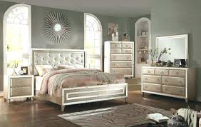 upholstered headboard king bedroom set best of mirrored tufted silver and grey queen furniture mirror frame