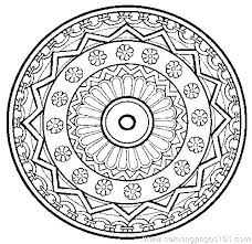 Free Printable Animal Mandala Coloring Pages For Adults To Print