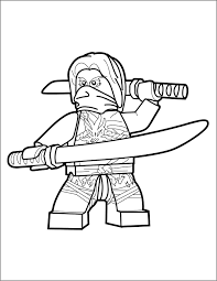 LEGO Ninjago Morro Coloring Pages (Page 1) - Line.17QQ.com