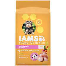 Iams Proactive Health Smart Puppy Small Toy Breed Dry Dog Food 7 Lb Bag
