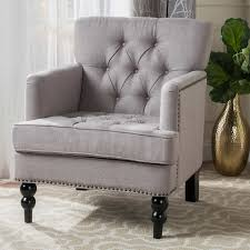 adorable fabric club chair in mckinley