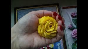 Мастер-класс: Лепка розы с тонкими лепестками из солёного ...