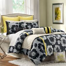 Yellow And Black Comforter Set Cepagolf