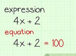 translating words into algebraic expressions worksheets image titled solve an algebraic expression step 1 translating word