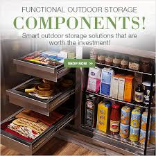 functional outdoor storage components