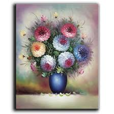 2019 100 hand painted oil painting on canvas beautiful colorful blooming flowers paintings modern home decor art from chinaart2016 27 14 dhgate com