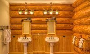 bold and beautiful bathroom lighting