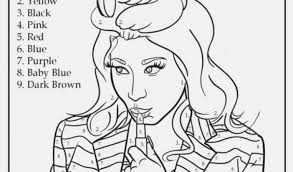 Small Picture Ideas of Nicki Minaj Coloring Pages Also Cover Letter
