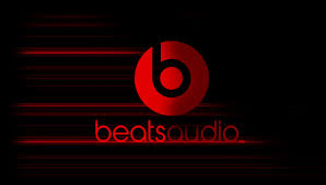 beats by dre logo. beats audio by dre logo