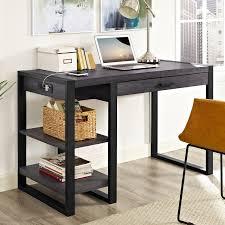 incredible walker edison desk stylish l shaped computer desk
