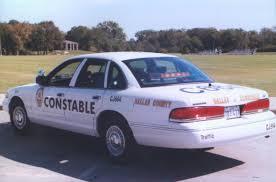 Dallas County Constable Car