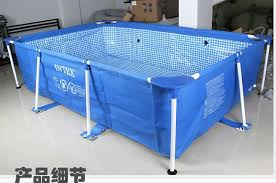Simple Intex Above Ground Pool Rectangle View Larger E With Design