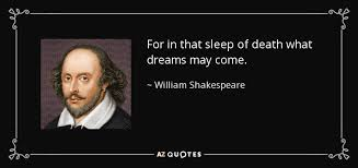 What Dreams May Come Quotes Best of William Shakespeare Quote For In That Sleep Of Death What Dreams