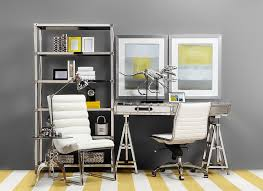 stylish home office. Design Ideas: Minimal And Calming Home Office Stylish