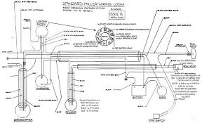 electrics wiring diagrams the velocette owners club for