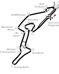 Erst zum vierten mal ist die königsklasse des motorsports in. Nurburgring The Formula 1 Wiki Fandom