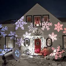Christmas Projector Lights Ebay Christmas Outdoor Led Moving Snowflake Laser Light Projector